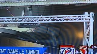 Effondrement du tunnel ville marie