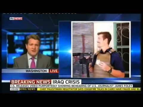 ISIS ISIL Militants beheads U S  Journalist James Foley