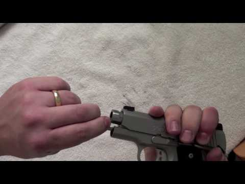 Kimber Ultra Carry 2 Disassembling in HD
