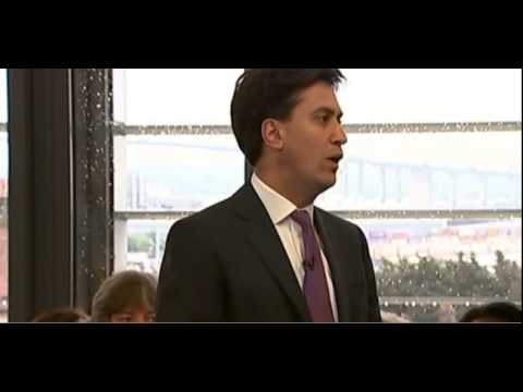 Ed Miliband asked to describe his leadership in one word