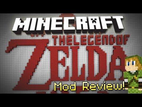 Minecraft: LEGEND OF ZELDA! (ZeldaCraft 2 Mod Review)