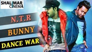 Jr.N.T.R & Allu Arjun Best Dance Performance War || Shalimarcinema