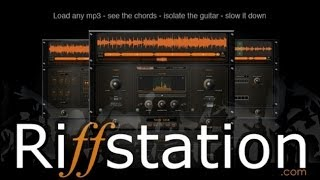 Riffstation Demo & Review - speed up, slow down, pitch shift, instrument isolation  pt.1
