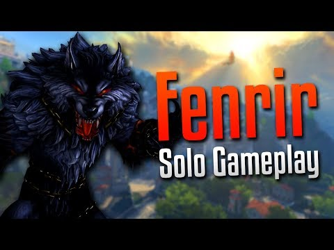 Smite: THEIR HUNTER IS SO BIG!- Fenrir Solo Gameplay