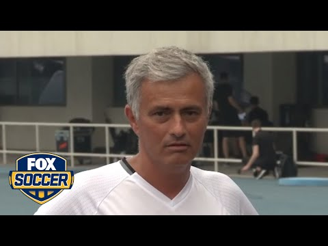 Jose Mourinho didn't like a question asked by a reporter