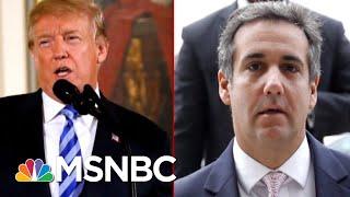 Michael Avenatti: Michael Cohen Has 'Multiple' Recordings Of President Trump   Deadline   MSNBC