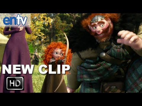 "Brave ""Father's Day"" Official Clip [HD]: Happy Father's Day From Pixar's Brave!"