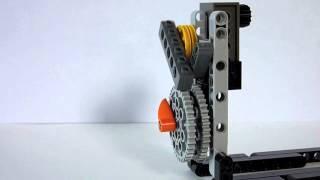 how to make a lego pendulum