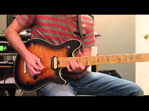 Andy Timmons Lick Lesson - Deliver Us (with TABS)