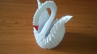 How To Make 3d Origami Swan, Part 1
