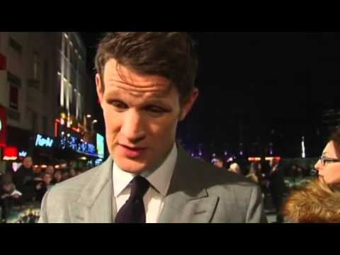 Matt Smith on Pride and Prejudice and Zombies
