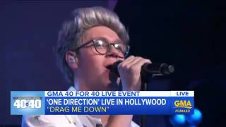 One Direction Drag Me Down live at GMA
