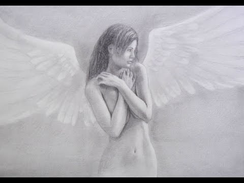 How To Draw An Angel - Learn To Draw The Nude Figure video