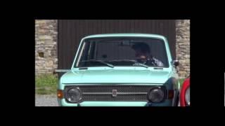 photo shooting Austin 1100 for classic car magazine