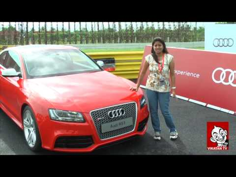 Motor Vikatan Contest Winner Preeti Test Drives Audi R8