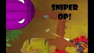 Sniper Monkeys vs Deflation Mode | Bloons TD 6