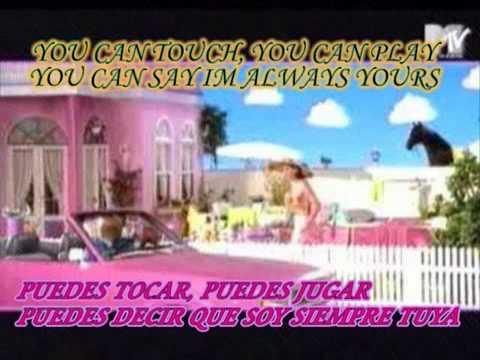 barbie girl aqua con letra lyrics subtitulada en español e...