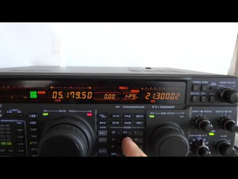 Yaesu FT-1000MP high-end all mode ham transceiver