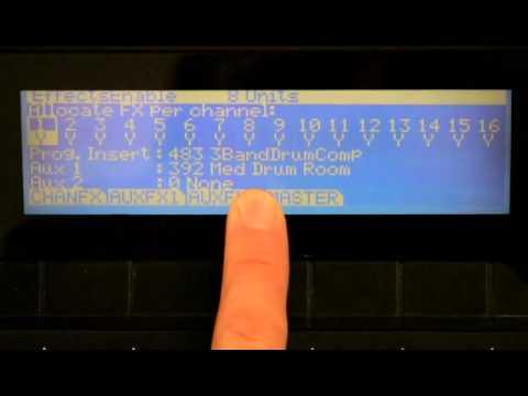 11 Kurzweil PC3 Series: FX Management