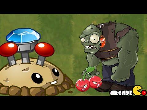 Plants Vs Zombies 2: Dark Ages August 28 Piñata Party ThreePeater Far Future Gargantuar