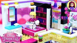 Rapunzel's Penthouse Bedroom - Modern Day Princess Apartment Custom Lego Build