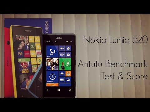Nokia Lumia 520 Antutu Benchmark Test & Score