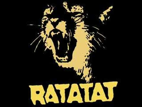That music is gooooood :-) Full version here... Ratatat is a duet from NYC composed by Mike Stroud and Evan Mast.... Electronica music... just listen and app...
