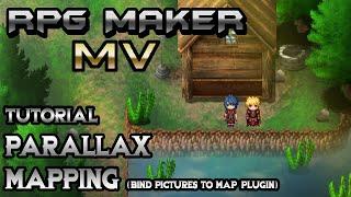 RPG Maker MV Tutorial: Parallax Mapping (BindPicturesToMap Plugin)