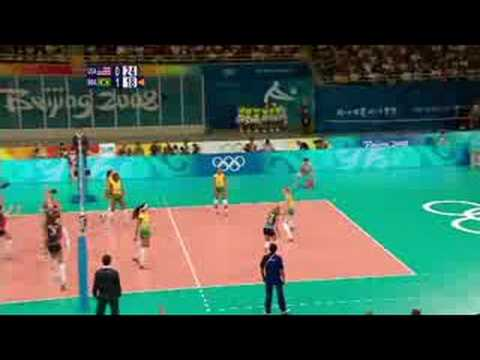 USA vs Brazil - Women's Volleyball - Beijing 2008 Summer Olympic Games