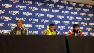 Thunder vs Jazz - Westbrook, George, Carmelo on Game 3 loss