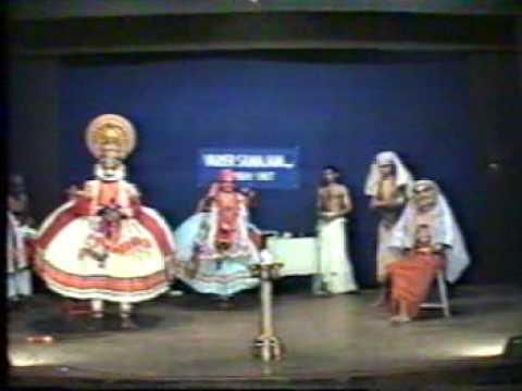 Tirur Nambissan&kalamandalam Gireeshan:kathakali..jaya Jaya Naga Kethana video