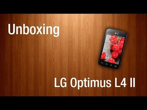 Unboxing - LG Optimus L4 II