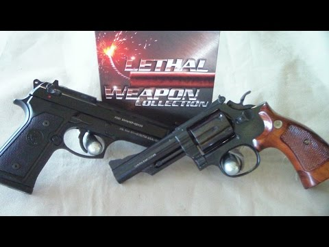 The weapons of the movie shooter
