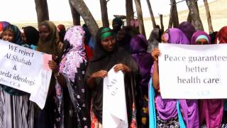 Adale Demonstration Against Al shabaab by Center For Community Awareness CCA