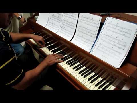 Jesus Adrian Romero - Te veo piano solo (practica)