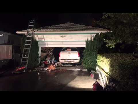 2-alarm house fire burns in South Sacramento, 11/6/2015