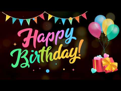 Happy birthday song with remix