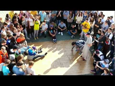 Танц батл Хабаровск!!Khabarovsk street dance!!№1