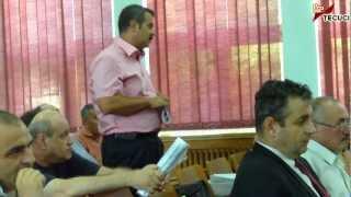 Tecuci - Şedinţă ordinară a Consiliului local  3.aug.2012