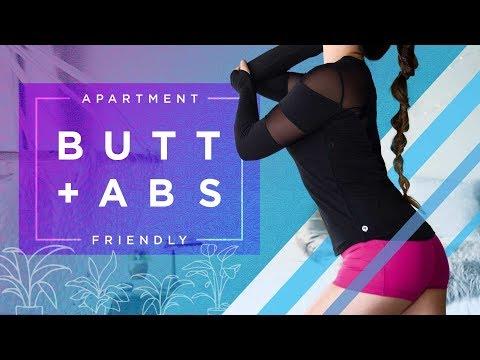 Butt Lift + Ab Chisel   Apartment Friendly Workout