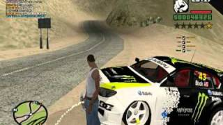 GTA SanAndreas Multiplayer drift