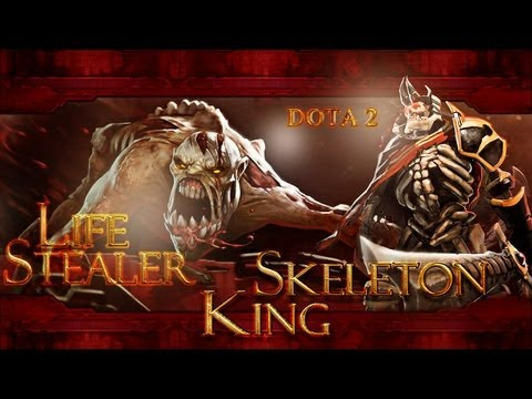 Dota2 Battle - Lifestealer vs Skeleton King
