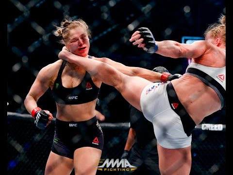 UFC 193 Rewind: Holly Holm's Shocking Win Against Ronda Rousey
