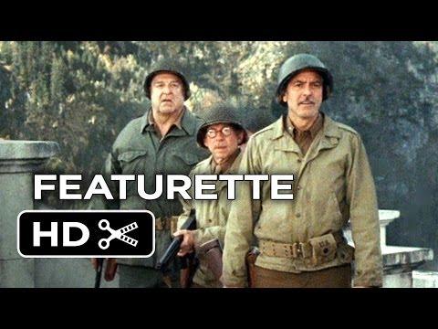 The Monuments Men Featurette - Unlikely Heroes (2013) - George Clooney, Matt Damon Movie HD