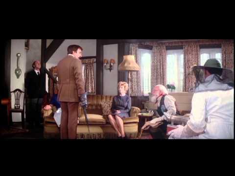 Clouseau interrogates the staff