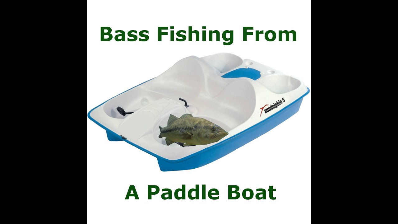 Bass Fishing From a Paddle Boat