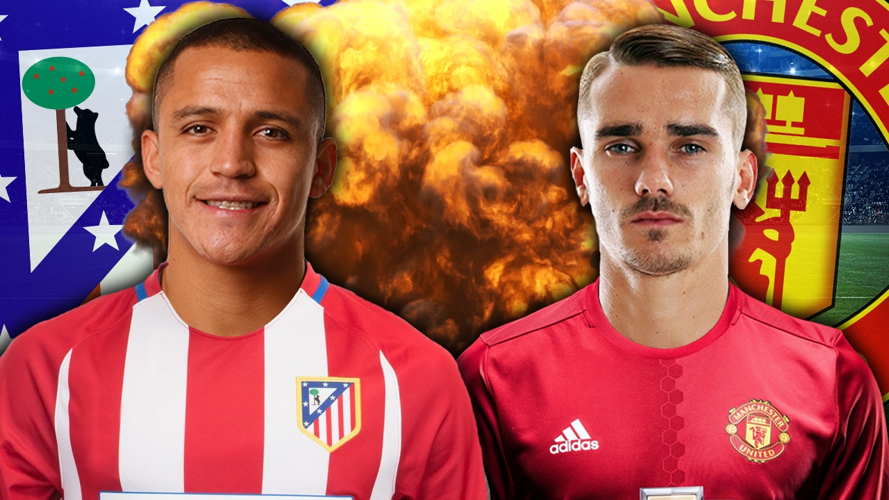 Alexis Sanchez To Replace Griezmann at Atletico Madrid?! | Transfer Review