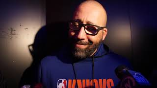 Coach Fizdale Names His Starters for the Knicks Preseason Opener