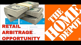 Retail Arbitrage Opportunity At Home Depot | Hot Selling Seasonal Item for eBay & Amazon w/ Terapeak