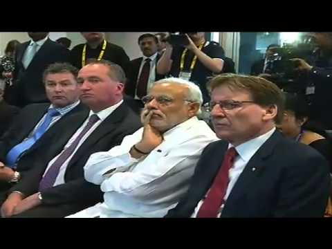 PM Modi visits the Queensland University of Technology